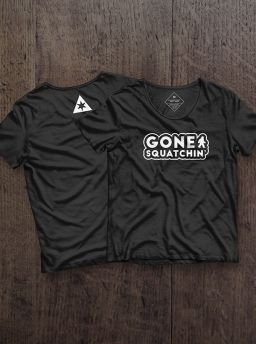 Gone Squatchin girl shirt